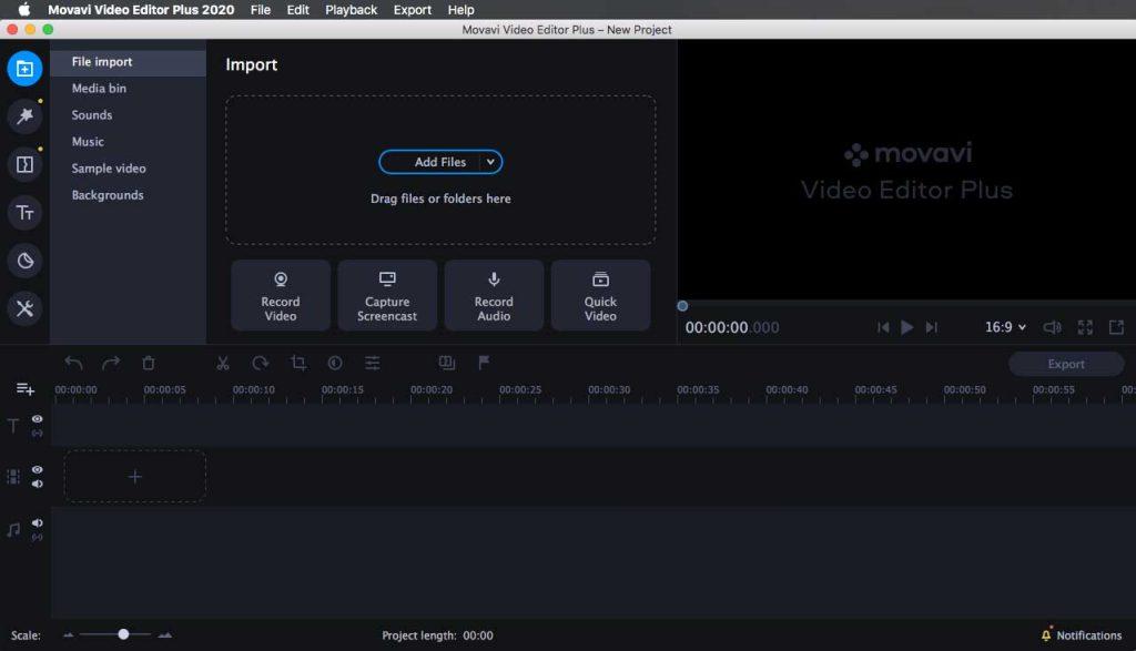 Movavi Video Editor Plus 2020 facilite la création et l'édition de vidéos