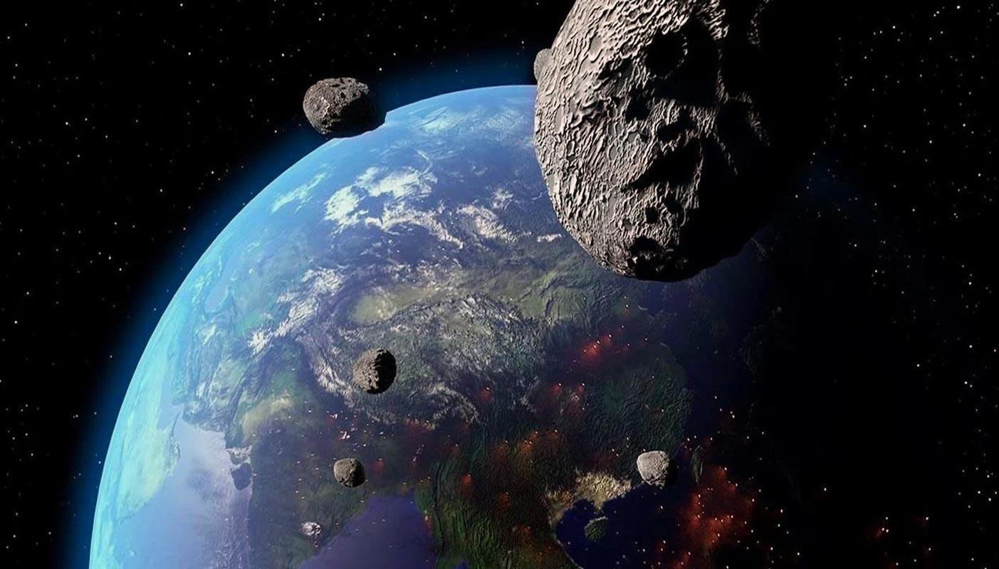 Un des astéroïdes qui s'approche de la Terre se trouve à environ 177 mètres (NASA).