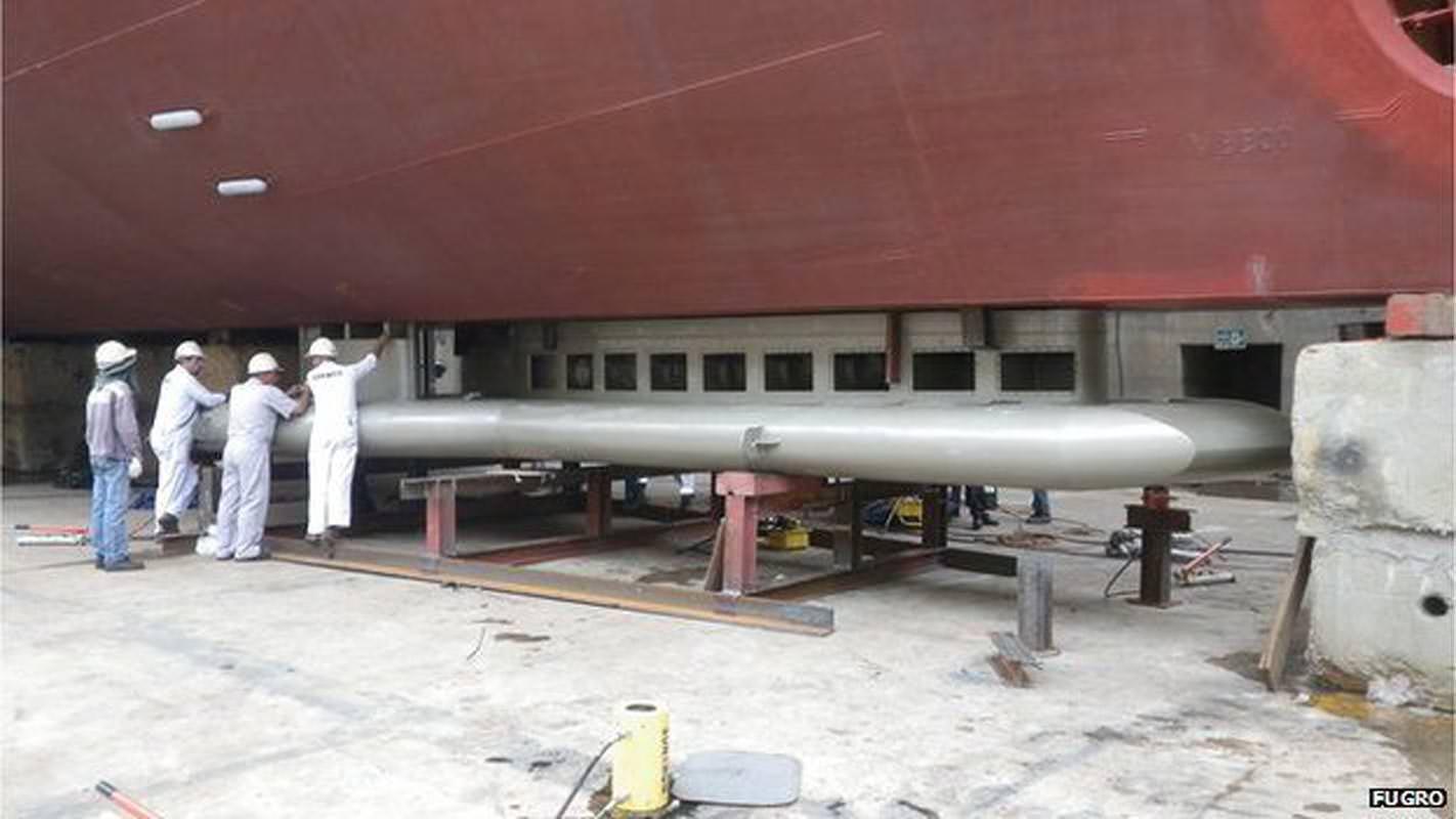 Les bateaux peuvent transporter du matériel d'arpentage et effectuer des mesures pendant leur voyage vers leur destination.
