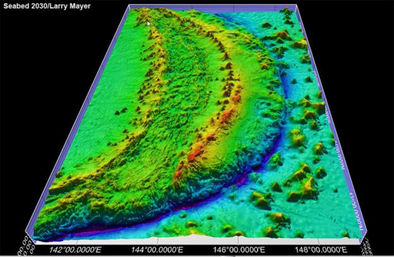 La fosse de Las Marianas dans le Pacifique est la zone la plus profonde de l'océan, mais elle est très bien cartographiée.