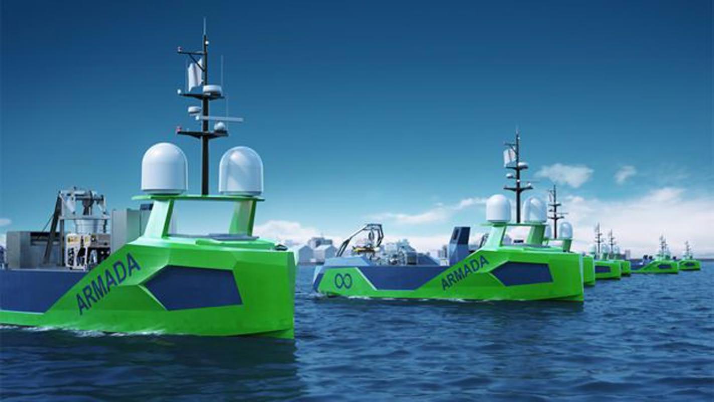 La société Armada construit des navires robotisés pour aider à compléter la carte.