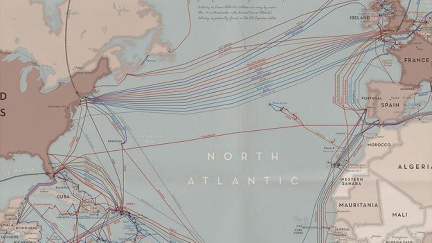 Aujourd'hui, des dizaines de câbles circulent entre les pays d'Amérique centrale et des Caraïbes.