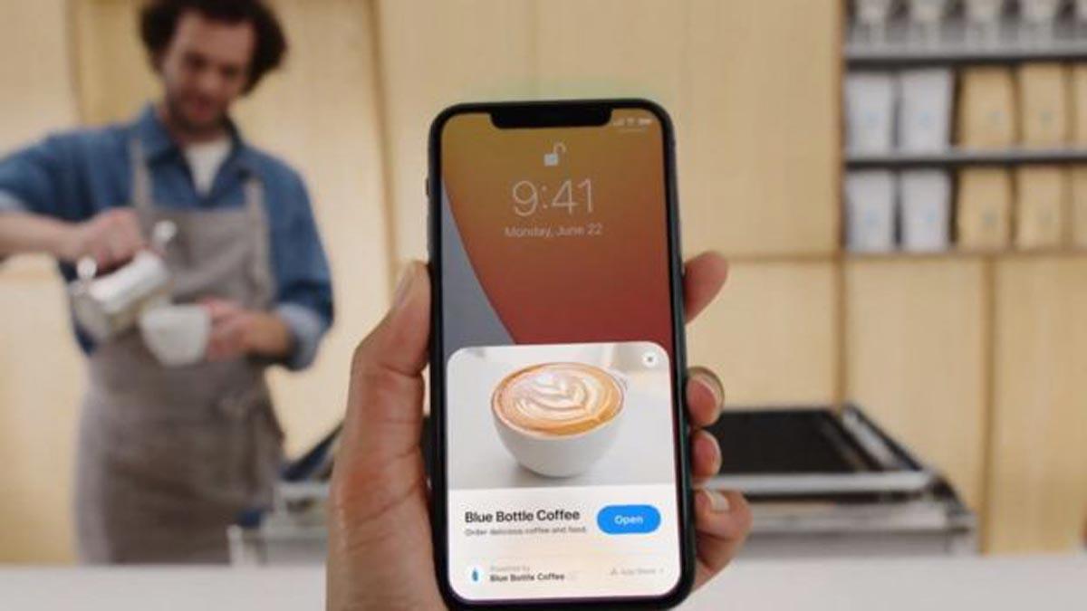 """Les """"App Clips"""" vous permettent d'ouvrir des applications sans avoir à les télécharger ou à les installer complètement sur votre téléphone portable."""