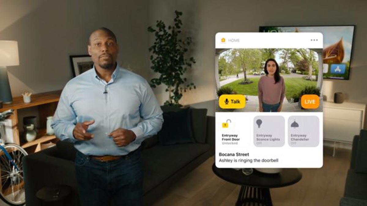 Apple a déclaré que les caméras de sécurité compatibles offriront une fonction de reconnaissance faciale.