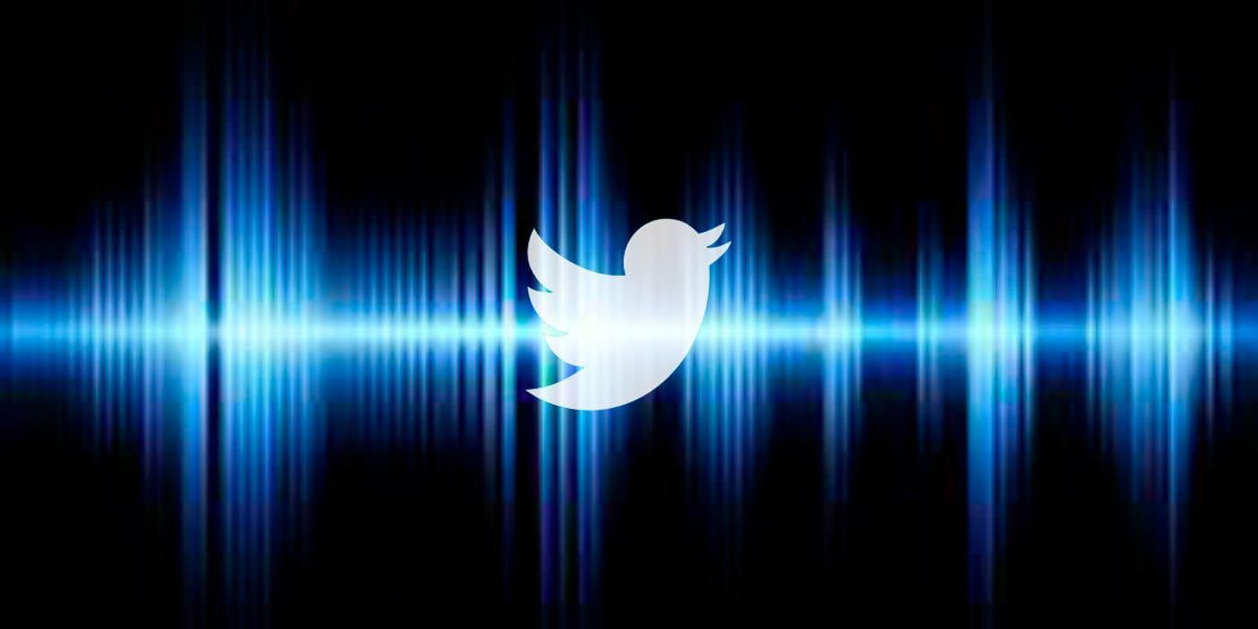 Twitter teste les tweets qui incluent des messages vocaux