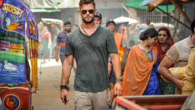 "Chris Hemsworth en ""Extraction"" (2020)."