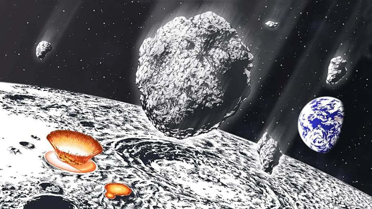 La Lune a subi une pluie d'astéroïdes il y a 800 millions d'années