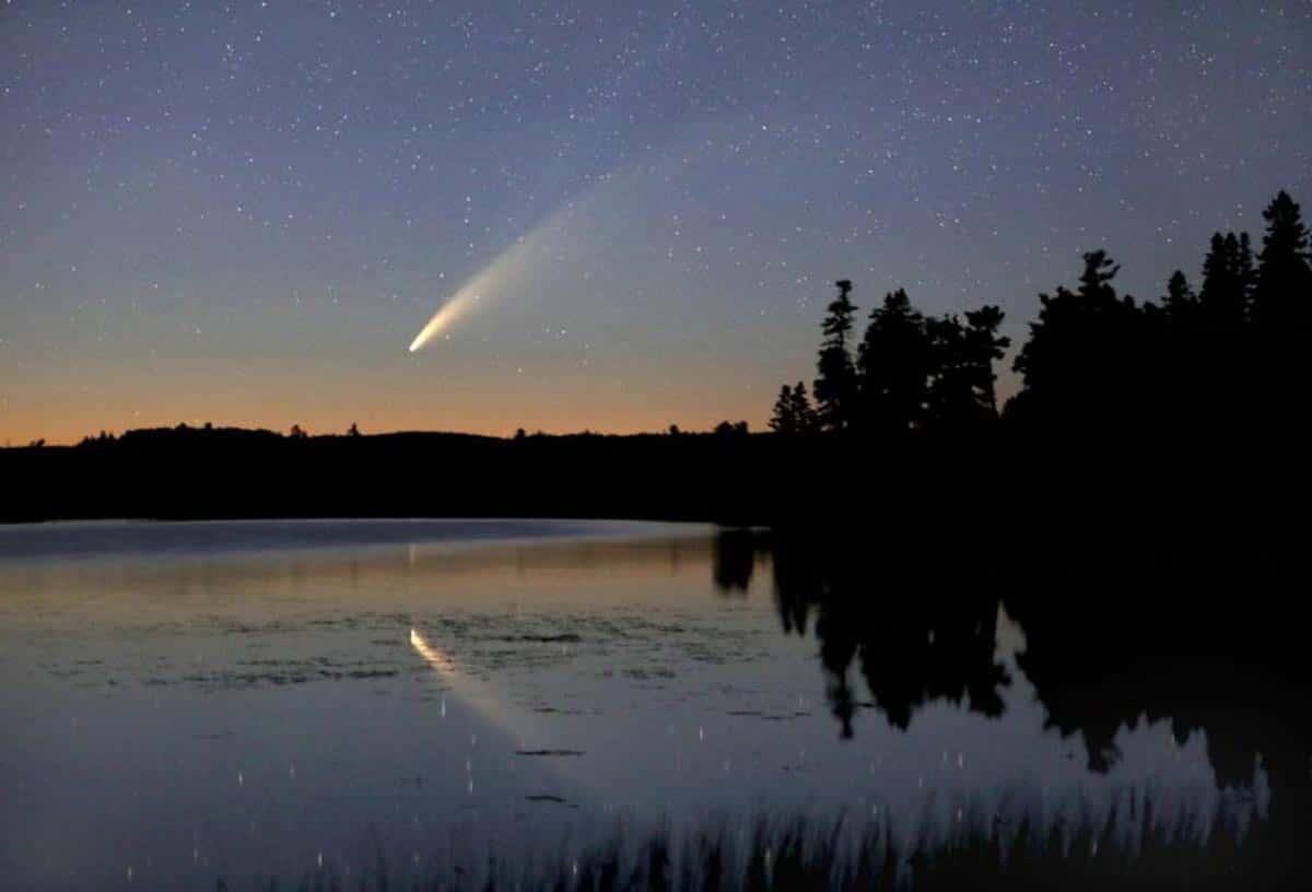 Cette image provient de Bob King à Duluth, dans le Minnesota.