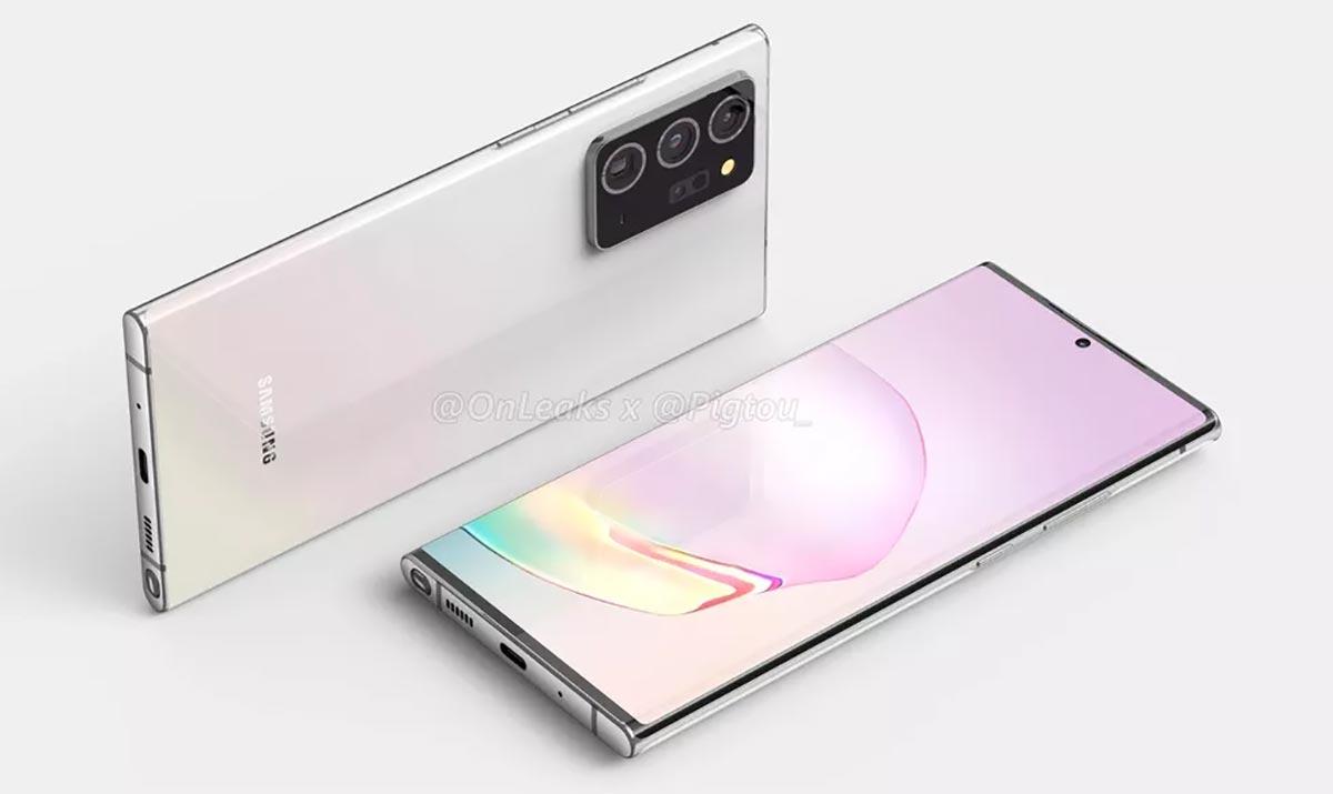 Les autres aspects physiques de la Galaxy Note 20 Plus ne seraient pas très différents de la Note 20 ordinaire.