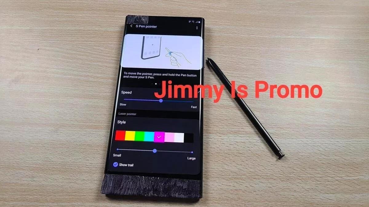 Un aperçu vidéo de la Galaxy Note 20 Ultra avant son lancement officiel