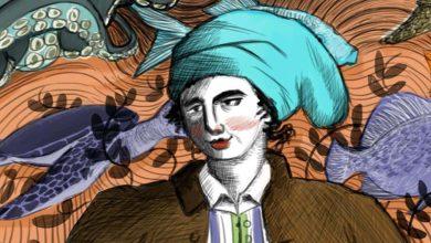 Photo de Google rappelle dans son gribouillage la naissance de Jeanne Baret, la première femme à avoir fait le tour du monde