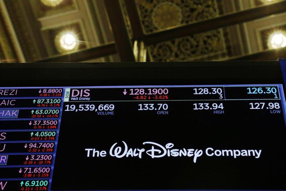 Le logo de la société Walt Disney