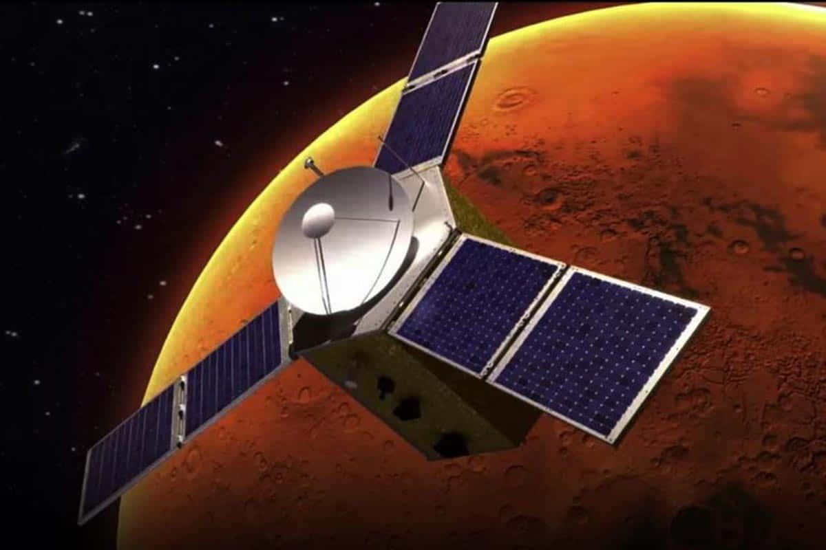 Recréation de la mission Hope en orbite autour de Mars.