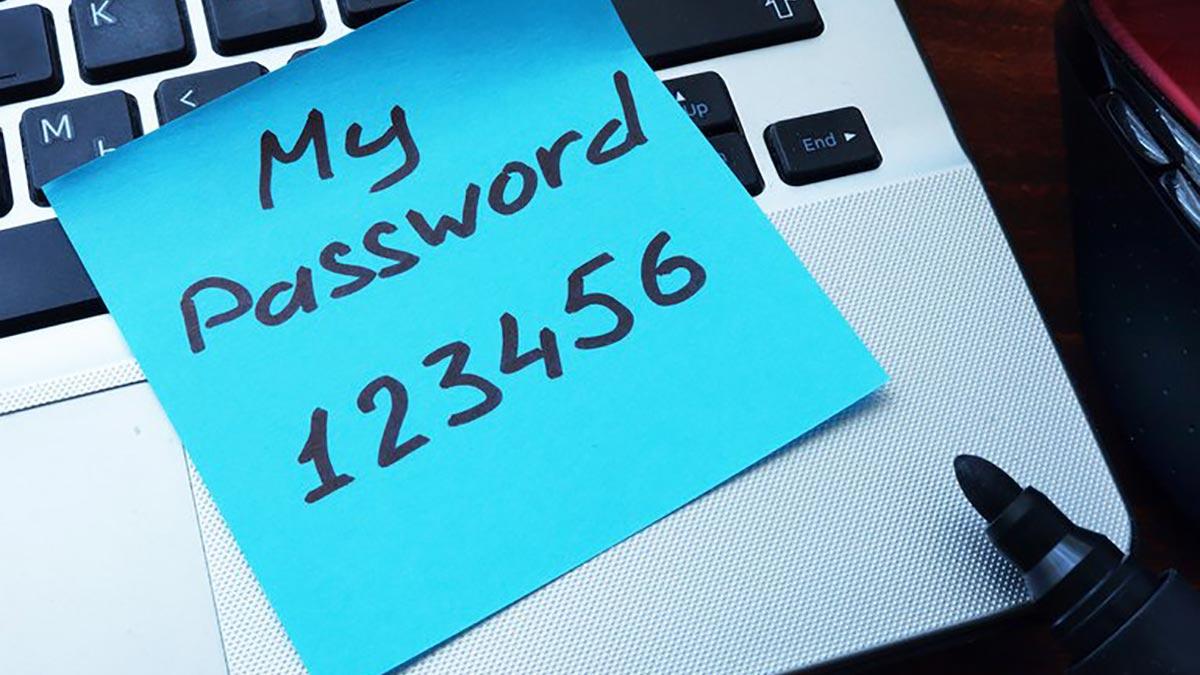 """""""123456"""" est le mot de passe le plus utilisé et le plus peu sûr, selon les données analysées dans les lacunes de sécurité."""