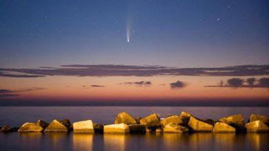 Photo de Neowise : la comète qui a illuminé le ciel de la planète Terre