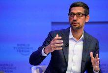 Sundar Pichai, PDG d'Alphabet, la société mère de Google
