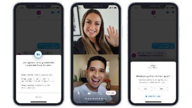 Tinder a additionné les appels vidéo pour tout le monde