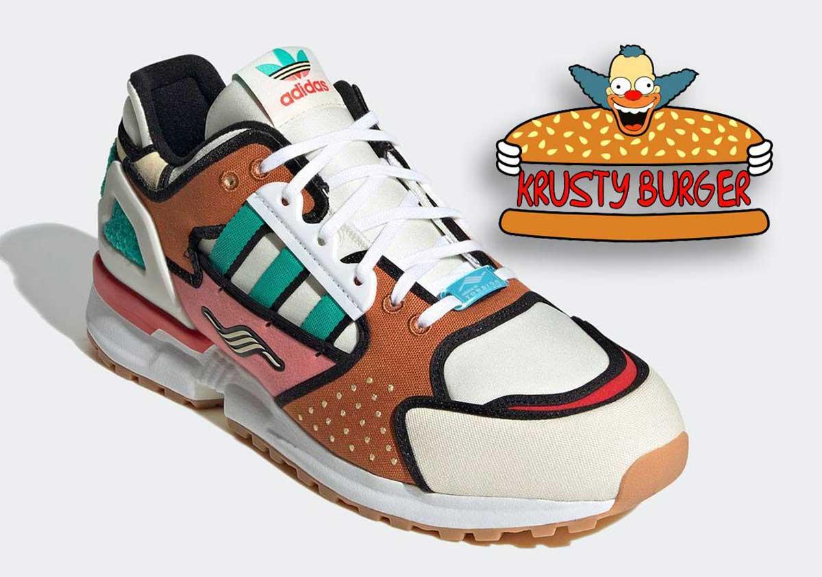 Adidas et les Simpsons rendent hommage à Krusty