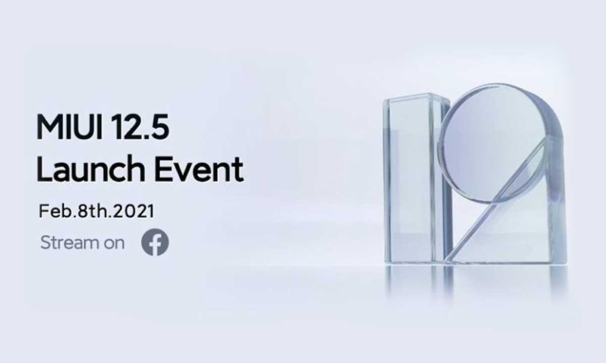 Xiaomi va lancer MIUI 12.5 le 8 février et dans le monde entier