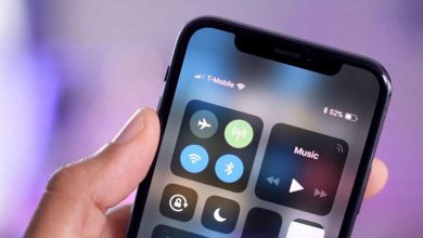 Comment afficher le pourcentage de la batterie de l'iPhone