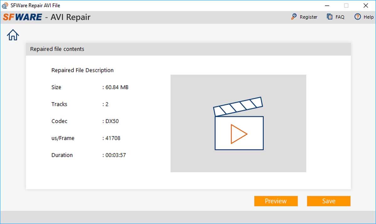 Comment réparer une vidéo endommagée avec SFWare Video Repair Tool ?