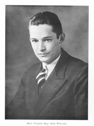 Photo : Sam Walton en 1938 | via Wikipedia.