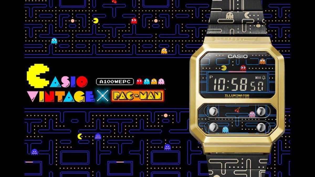 Casio lance une montre inspirée de Pac-Man