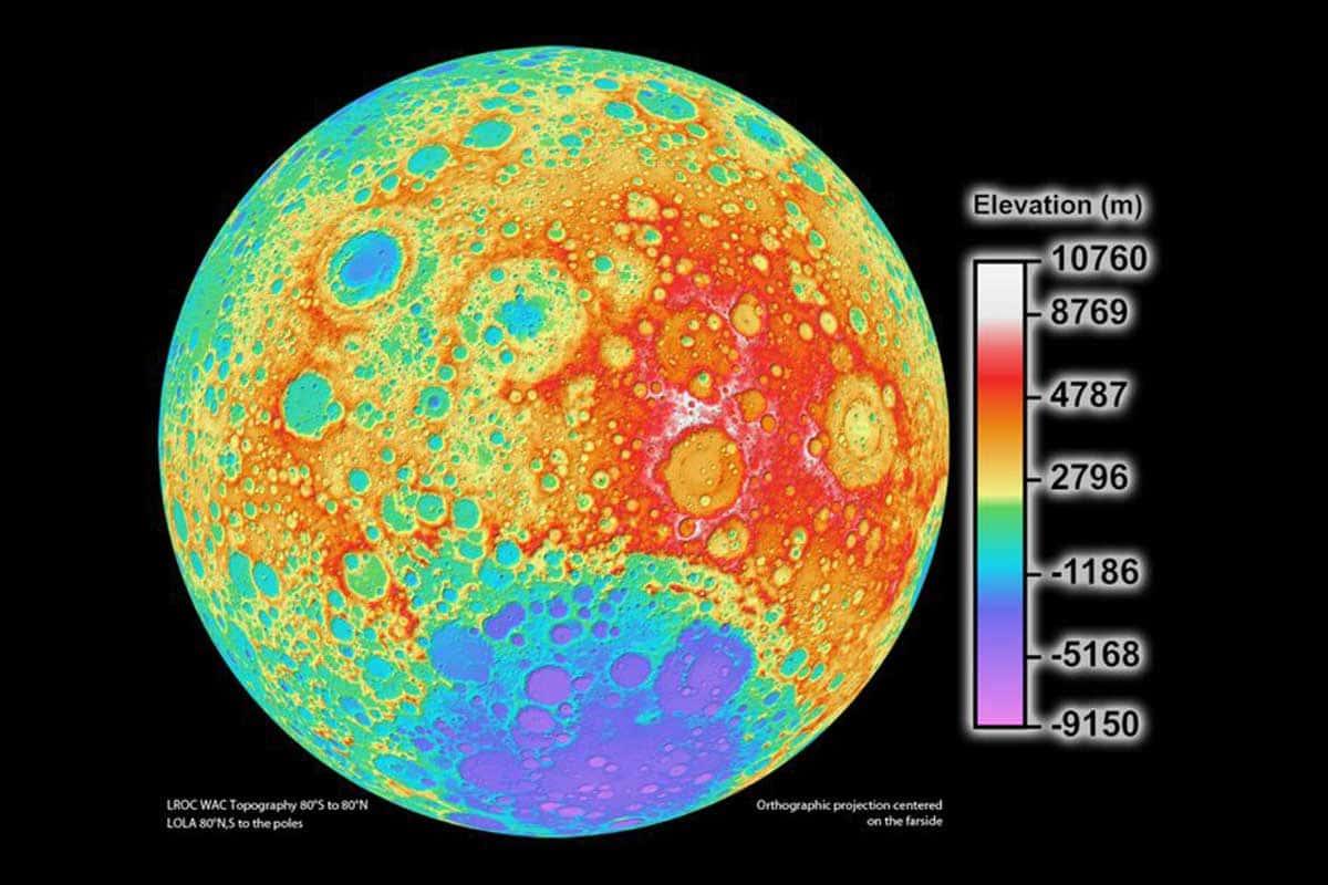 Selon Shcherbakov et Vasin, la collision des météorites avec la Lune ne modifie que légèrement la couche aveuglante située sous la poussière de surface, ce qui donne lieu à des fosses d'une profondeur maximale de quatre kilomètres.