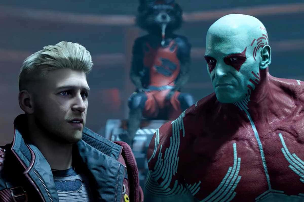 Le jeu vidéo Guardians of the Galaxy aura environ six heures de cinématiques interactives