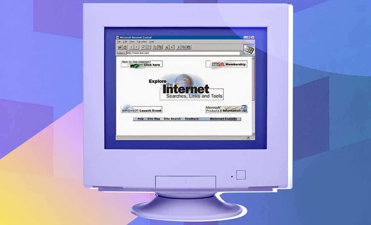 Il s'agissait de la première version de Microsoft Internet Explorer.