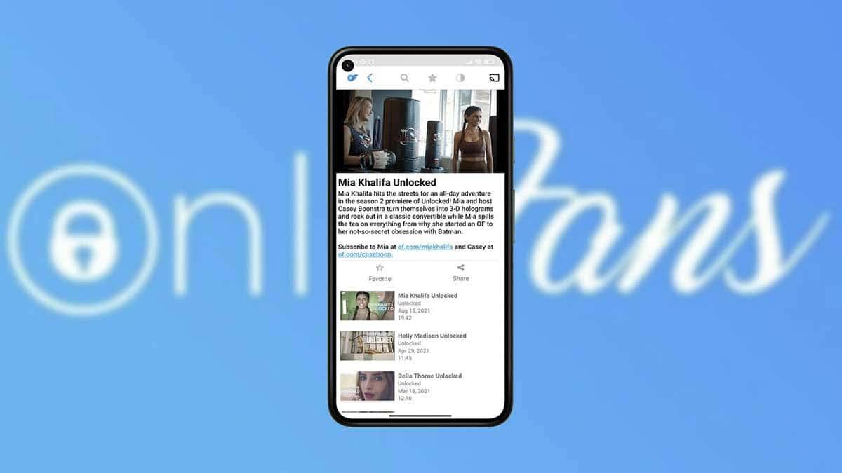 OnlyFans a lancé une application sans contenu pour les adultes.
