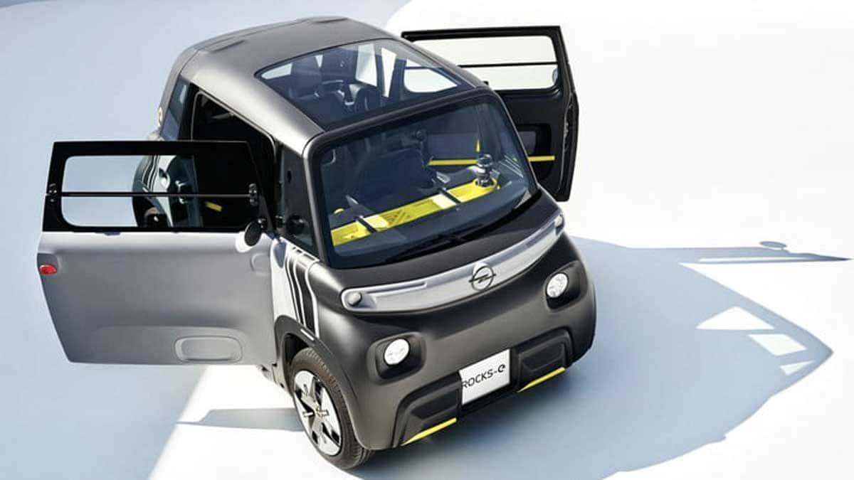 Ce n'est pas une voiture, ce n'est pas une moto, c'est l'Opel Rocks-e 2022