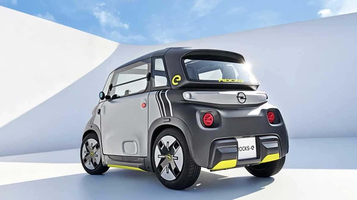 Ce n'est ni une voiture ni une moto, c'est l'Opel Rocks-e 2022
