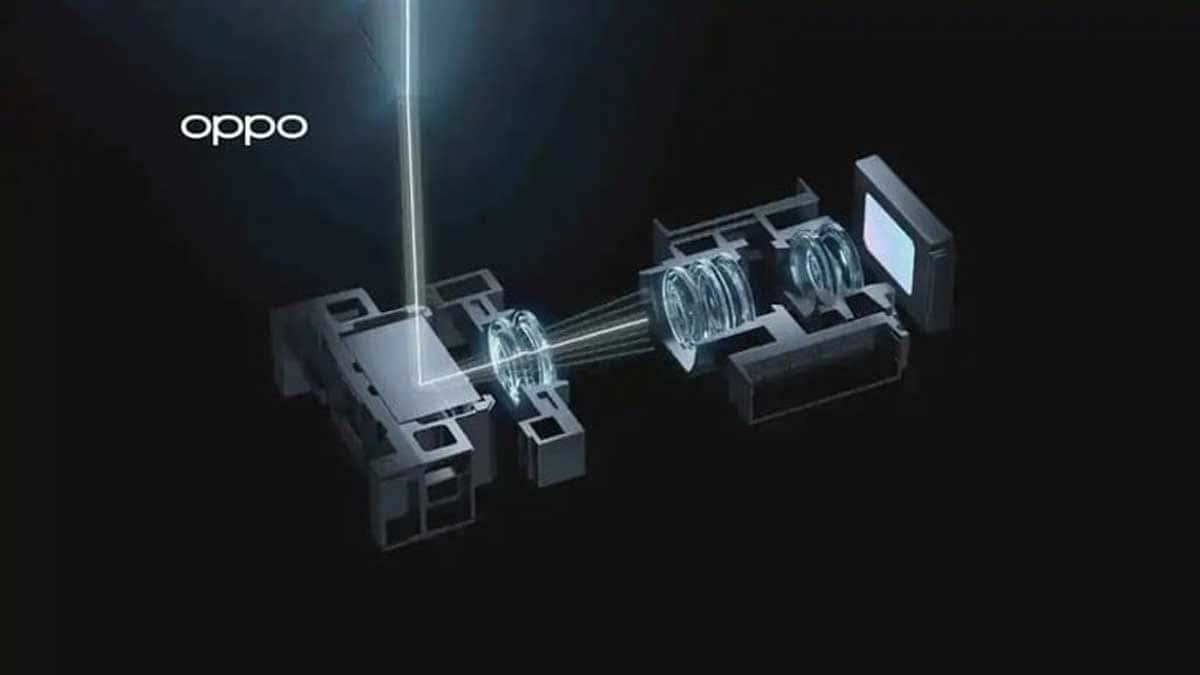 Oppo a dévoilé son nouvel objectif à zoom optique progressif.