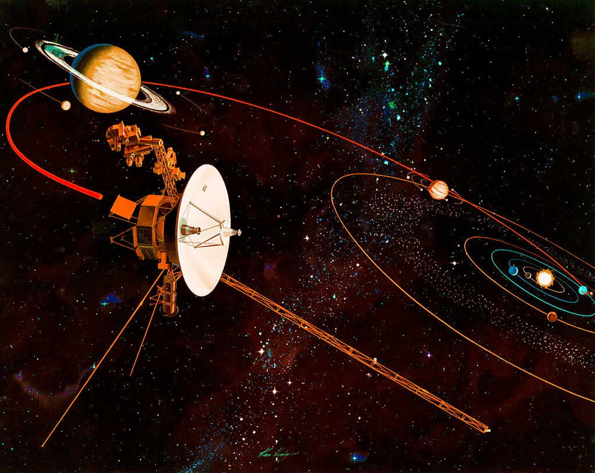 Why is it possible that Voyager 1 holds the key to extraterrestrial life discovery?